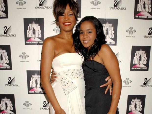 Whitney Houston and Bobbi Kristina 2007