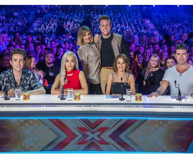 The X Factor judges and presenters