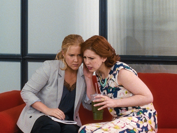 Amy Schumer and Vanessa Bayer In Trainwreck