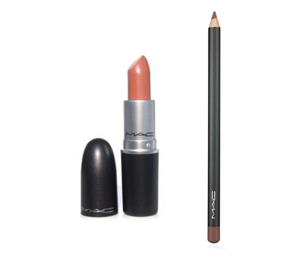 Aaliyah loved MAC's nude-toned lipsticks and liners