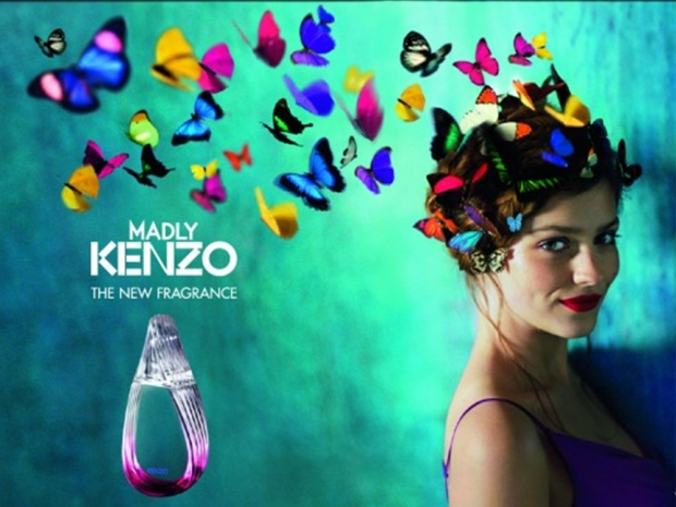 Amber Anderson in Madly Kenzo advert