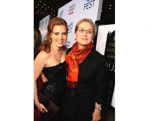 Amy Adams with Meryl Streep
