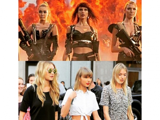 Bad Blood music video meme