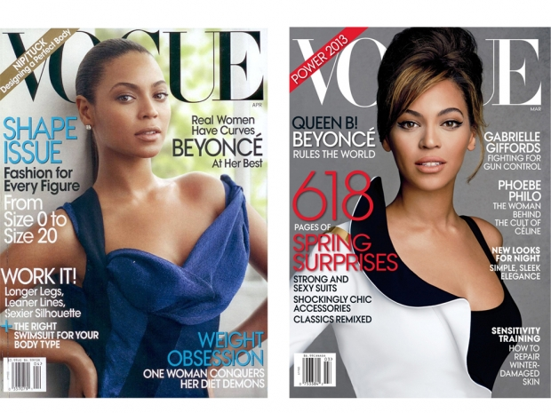 Beyonce US Vogue covers