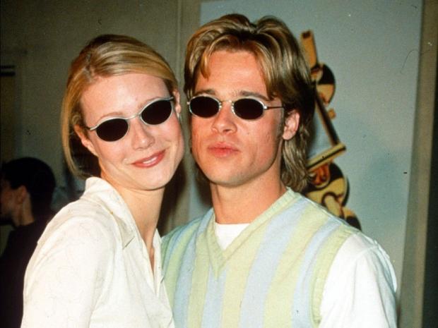 Brad Pitt and Gwyneth Paltrow when they were dating.