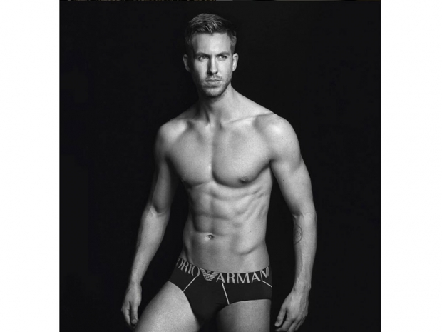 Calvin Harris Armani underwear