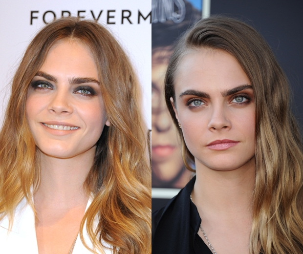 Cara does waves every which way