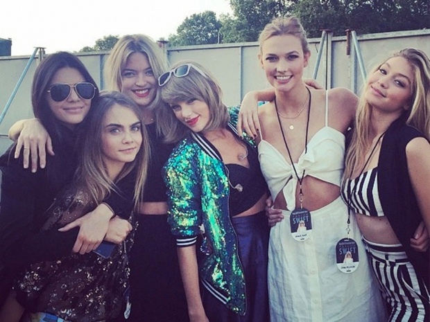Cara Delevingne and her famous mates on Instagram