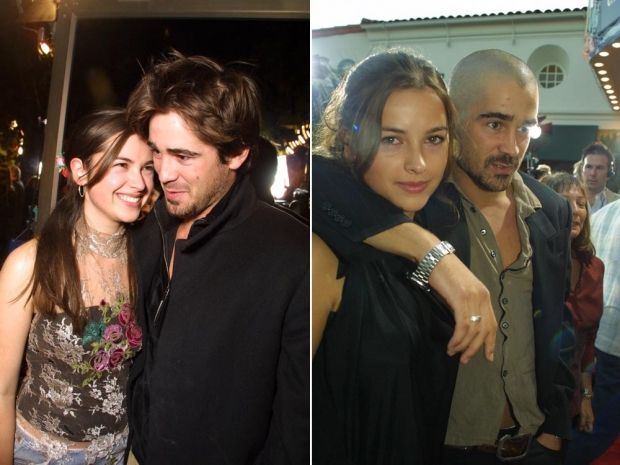 Amelia Warner with Colin Farrell