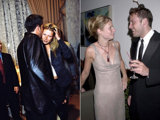 Gwyneth Paltrow with Ben Affleck