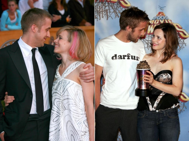 Rachel McAdams with Ryan Gosling