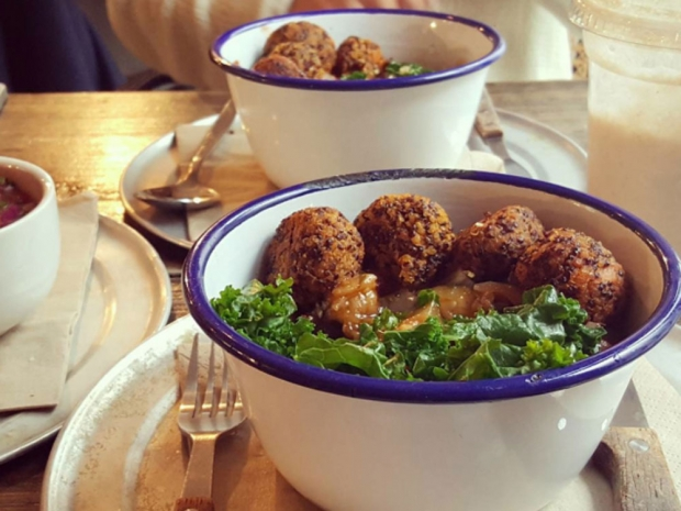 Sweet Potato Falafels