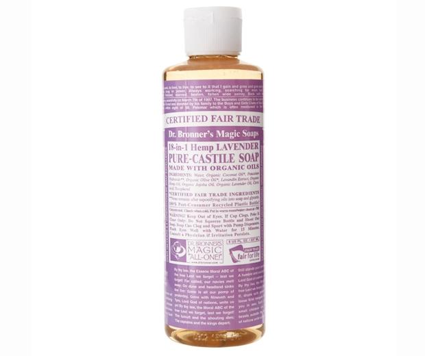 Dr. Bronner Organic Lavender Castile Liquid Soap