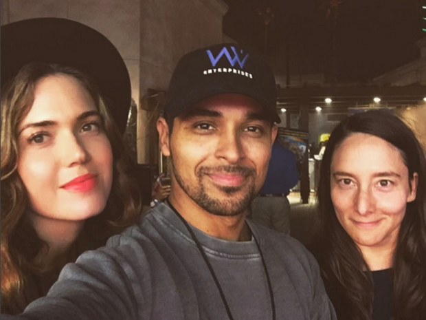 Mandy Moore and Wilmer Valderrama
