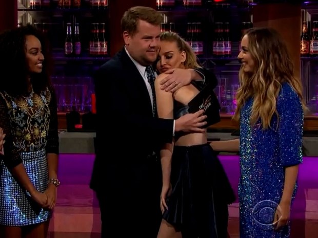 James Corden and Little Mix on the Late Late Show