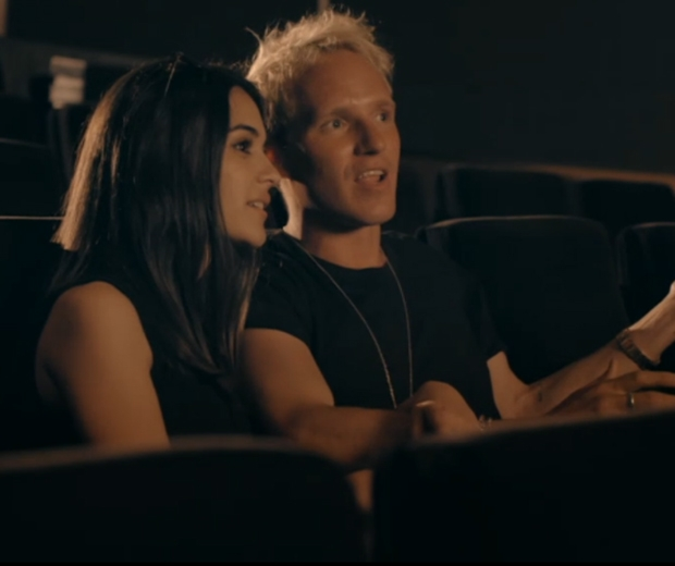 Jamie Laing takes LA girl Naz on a date to see Paper Towns