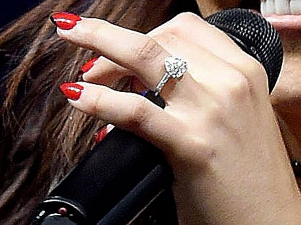 Jesy Nelson's engagement ring