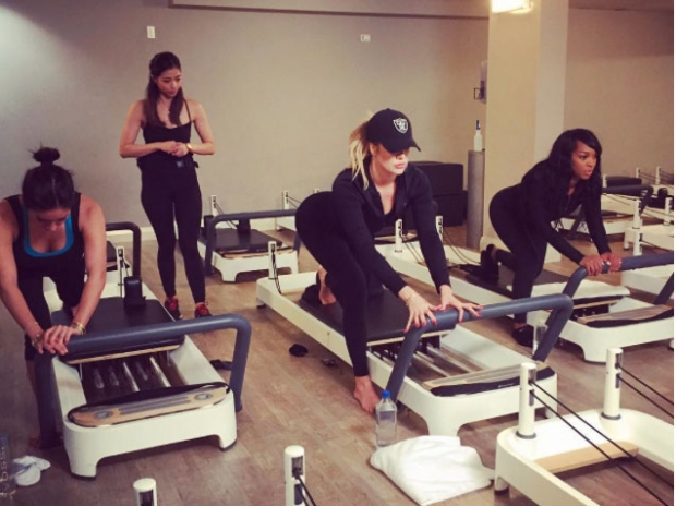 Reformer Pilates: The Kardashians are fans