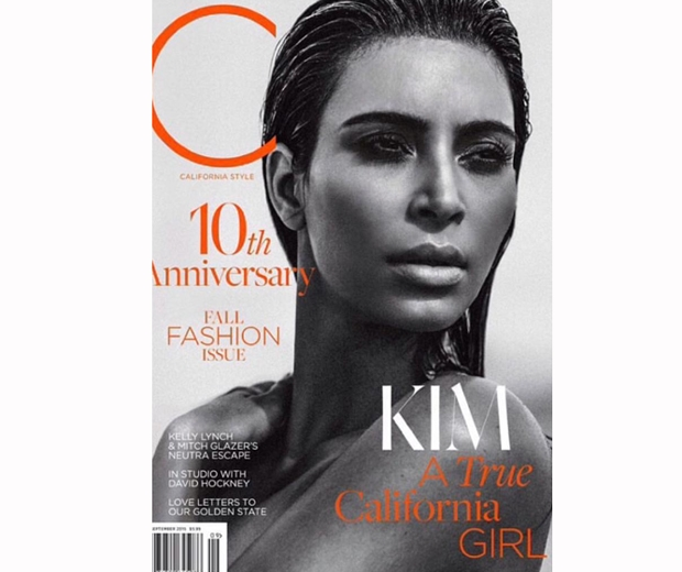 Kim Kardashian for c magazine