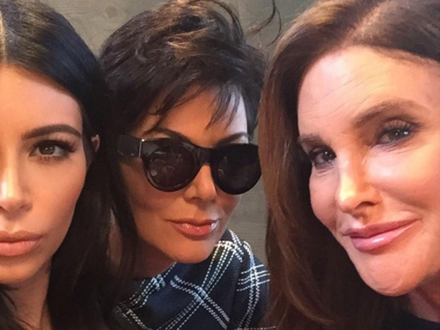 Kim Kardashian, Kris Jenner and Caitlyn Jenner