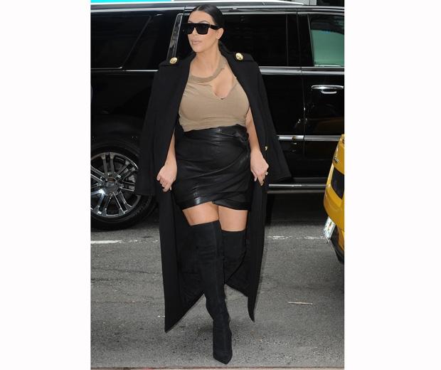 Kim Kardashian in Instagram selfie