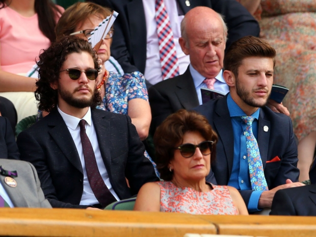 Kit Harington at Wimbledon