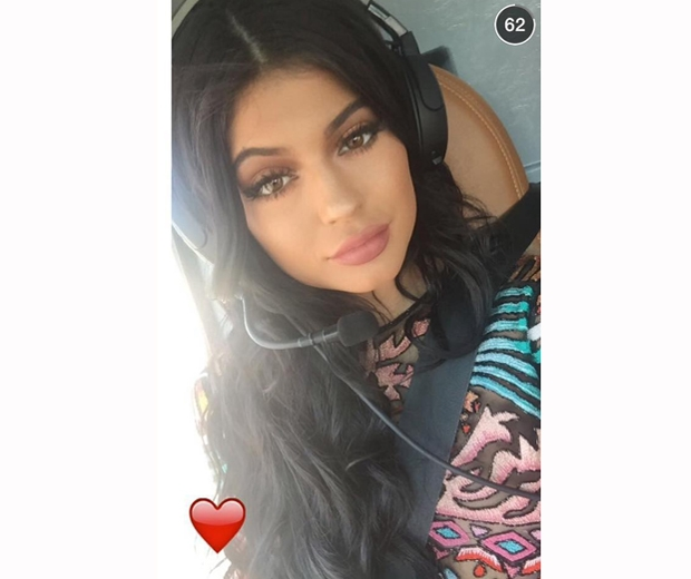 kylie jenner helicopter