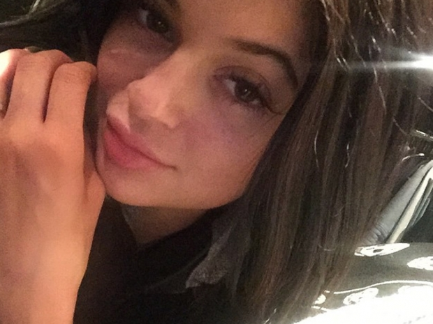 Kylie Jenner wearing no make-up in Instagram selfie