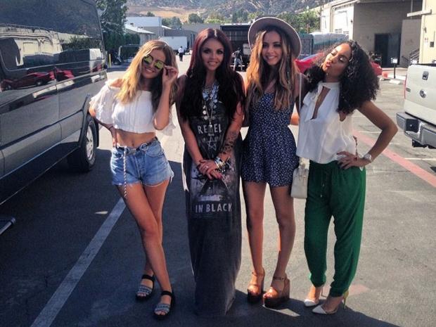 Little Mix in LA
