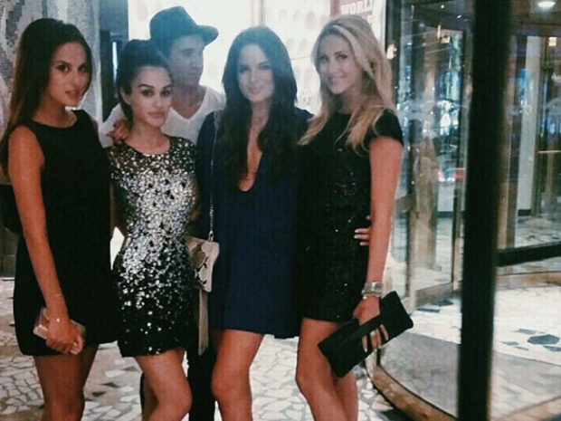 The Made In Chelsea crew in Las Vegas