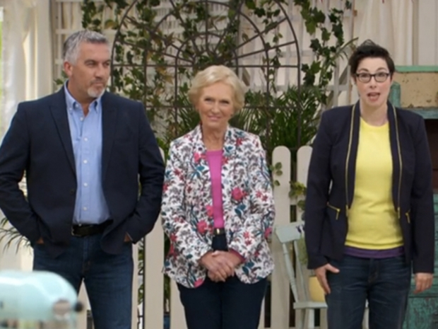Mary Berry in floral Oasis jacket