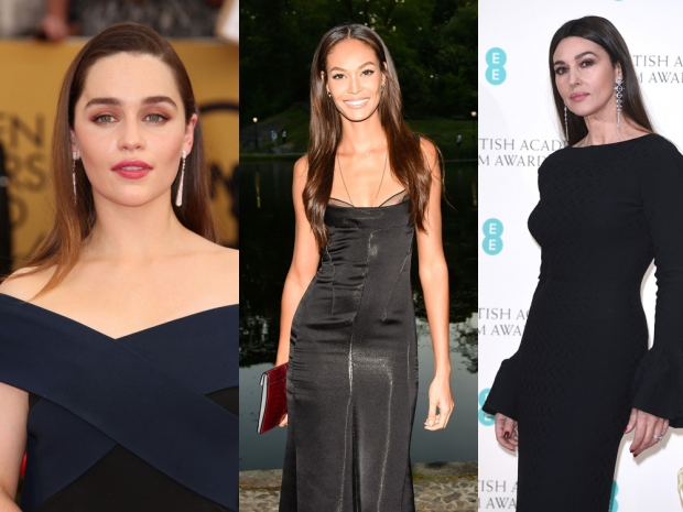 Emilia Clarke, Joan Smalls and Monica Bellucci all feature on Maxim's Hot List