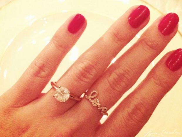 Lauren Conrad's engagement ring