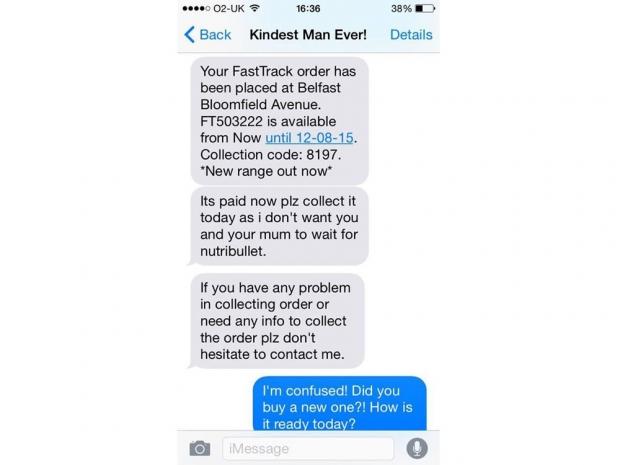 Man Buys Stranger Nutribullet For Cancer