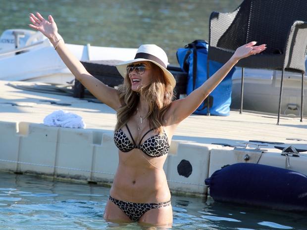 Celebrity Holidays: Nicole Scherzinger's high street bikini