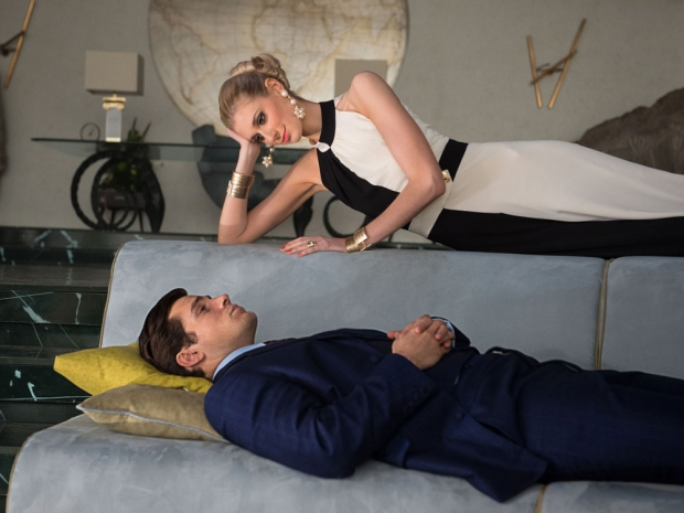 Elizabeth Debicki and Henry Cavill in 'The Man From U.N.C.L.E'