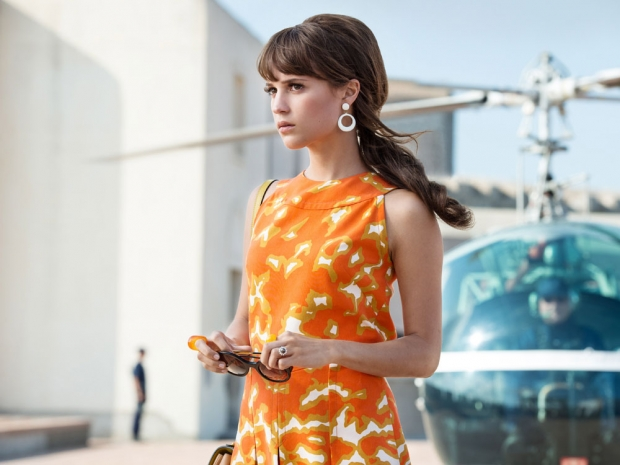 Alicia Vikander in 'The Man From U.N.C.L.E'