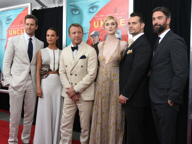 All the stars at the premiere of 'The Man From U.N.C.L.E'