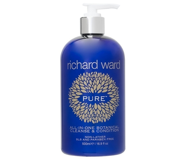 Richard Ward Couture Hair Pure All-In-One Botanical Cleanse and Condition, £26