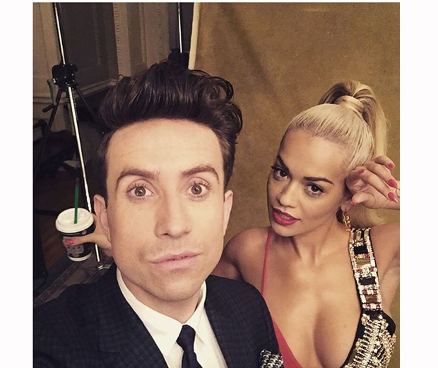rita ora and grimmy on x factor