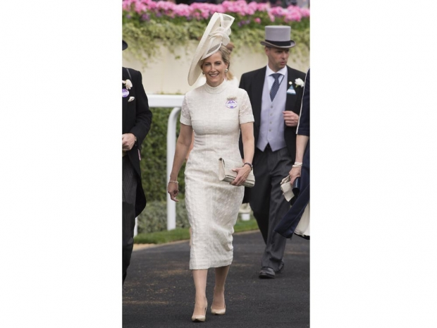 Sophie, Countess of Wessex in an Emilia Wickstead dress