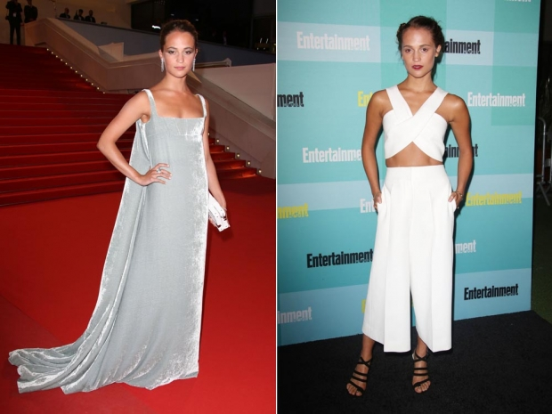 Alicia Vikander has been named as the best dressed in Hollywood