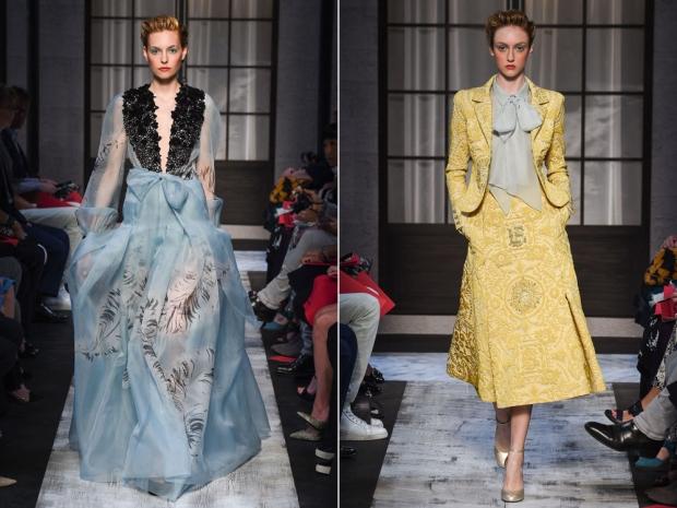 Schiaparelli's Autumn/Winter 2015 couture show.