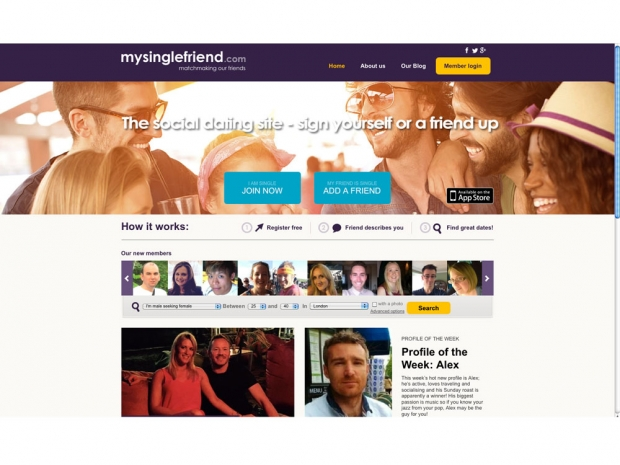 Dating Sites: My Single Friend