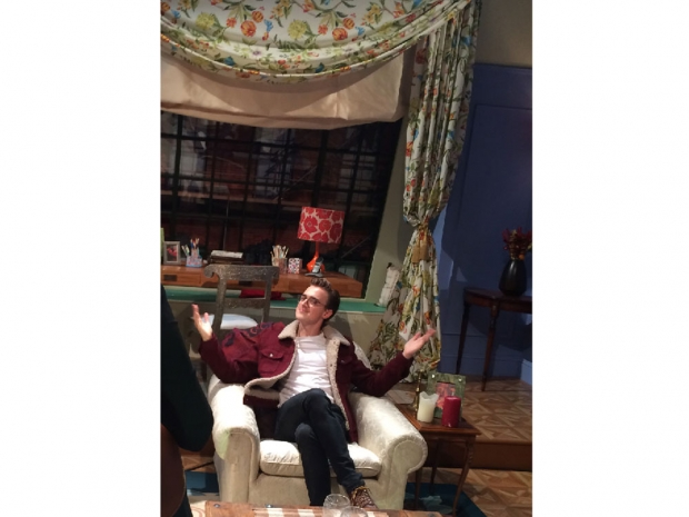 Tom Fletcher enjoying FriendsFest