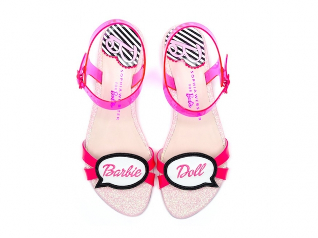 Barbie by Sophia Wesbter 'Speechbubble' Flat