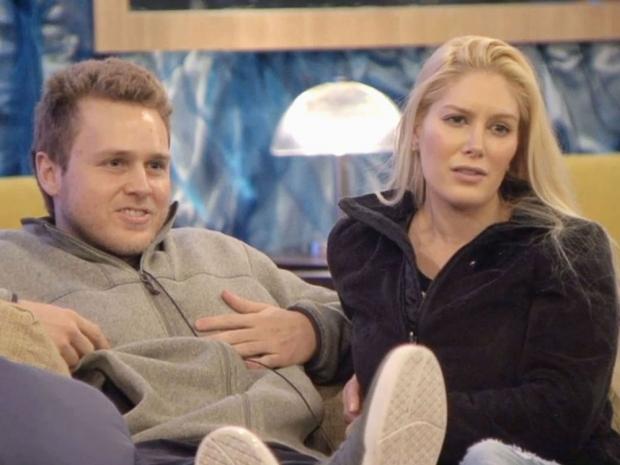 Spencer and Heidi Pratt on Celebrity Big Brother