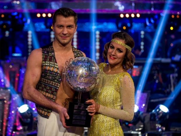 Caroline Flack and Pasha Kovalev