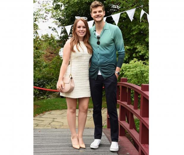 Tanya and her fiance Jim Chapman