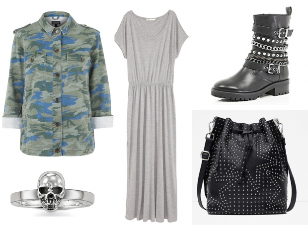 Grungy V Festival outfit